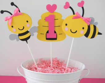 Bumble Bee Centerpiece  Deluxe XL  Birthday Centerpiece