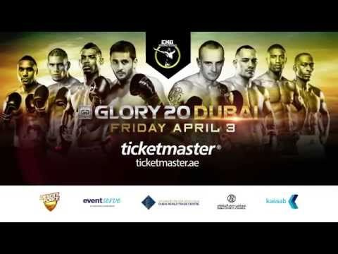 GLORY 20 Dubai - Ticket Trailer  
