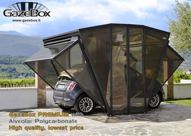 Delivering A New Concept For Accommodating Cars The Gazebox Is A