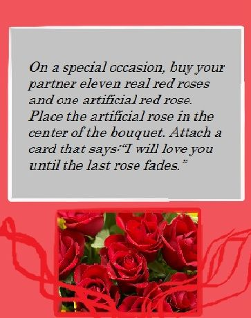 :) A romantic idea stumbled upon...