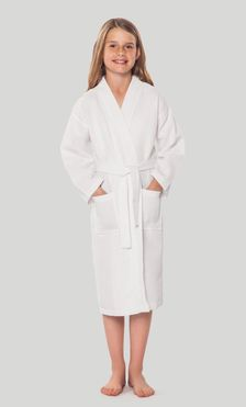 Kids Bathrobes :: Waffle Kids Bathrobes - Wholesale bathrobes, Spa robes, Kids…