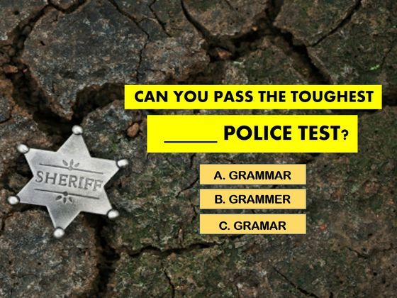 Almost No One Can Pass The TOUGHEST Grammar Police Test! Can You? | Playbuzz
