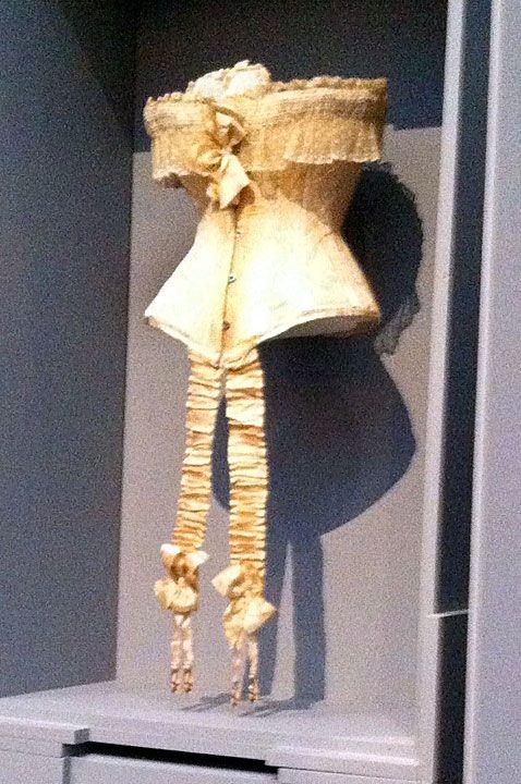 Antique corset  www.pinterest.com/wholoves/corsets  #corsets