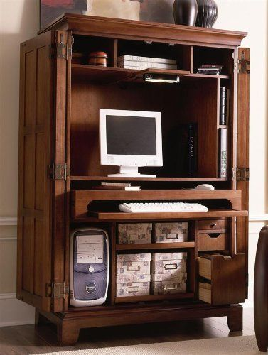 1000 Ideas About Computer Armoire On Pinterest Gaming
