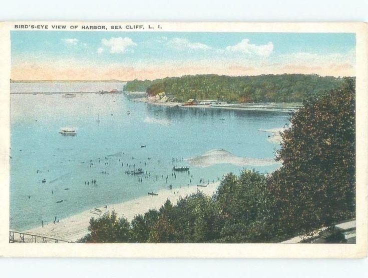 W-Border HARBOR VIEW Sea Cliff In Oyster Bay - Long Island New York NY d8308   eBay
