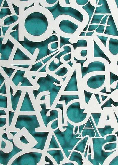 AaAaAaA: Paper Cut, Cutouts, Graphic, Typography Posters, Papercut, Paper Art, Hand Cut Typography, Design