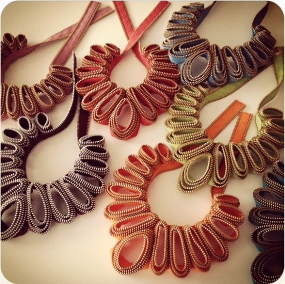 Zipper-necklace