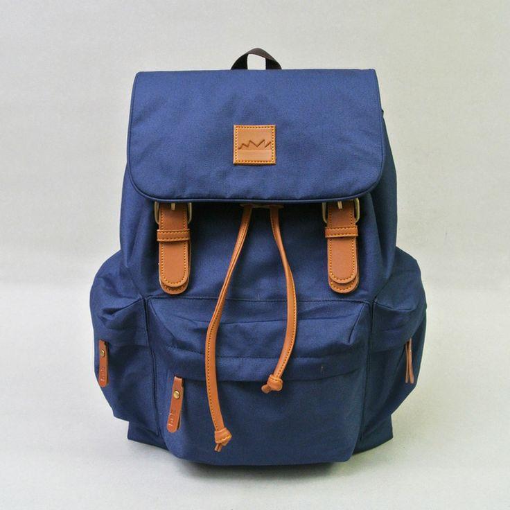 Taro Navy! IDR 210.000,- #tuskbag #bestseller #bag #vintage #taro #navy #polyester #leather   CS Center 7D1041AA  