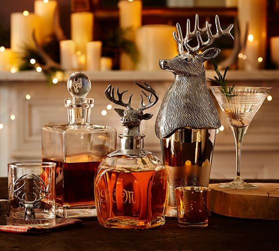 This is definitely a must! Perfect rustic decanters to accent a bar area