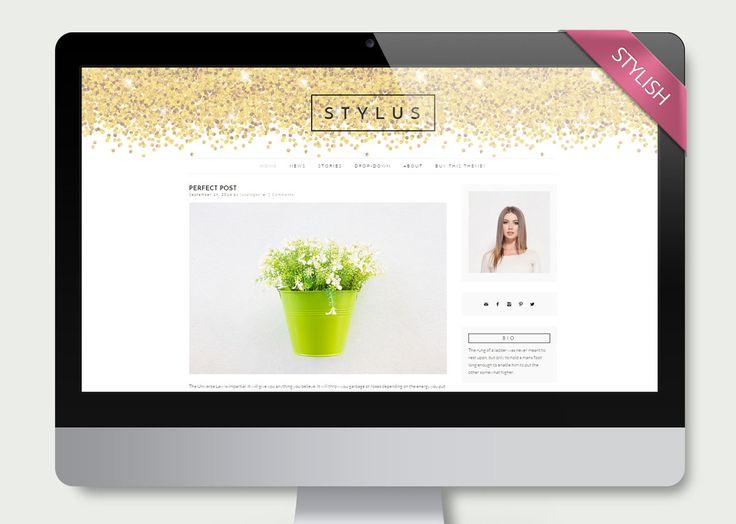 Stylus - Clean Wordpress Theme Blog - Blog - 1