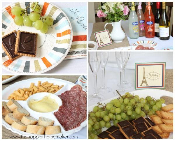 French Themed Party with Lemonade Cocktails
