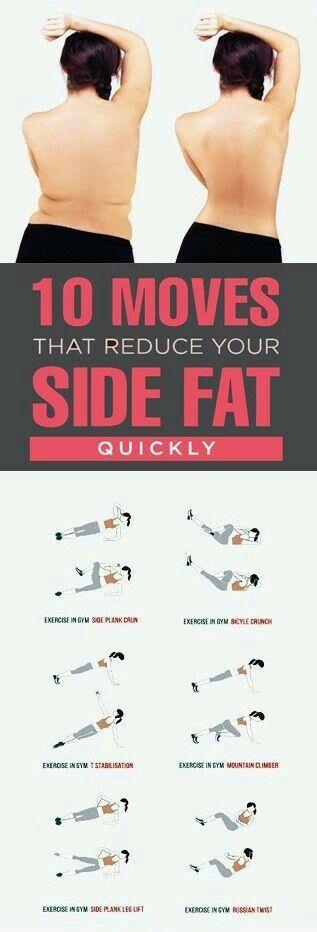 Ejercicios para reducir la grasita lateral