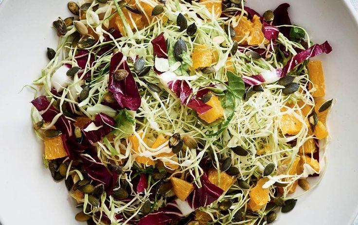 Nem salat med spidskål og appelsin - ALT.dk