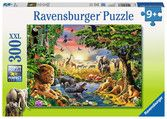 Evening at the Waterhole | Children's Puzzles | 2D Puzzles | Shop | US | ravensburger.com