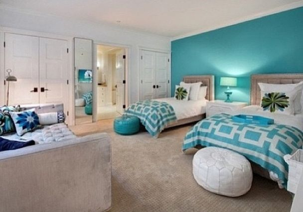 1000 ideas about turquoise accent walls on pinterest 20141 | e1e883f06f946318970d646b2d3034e8