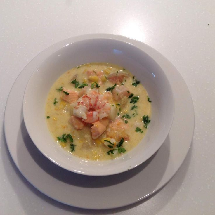 Recipe Seafood Chowder by Thermomixin' Kitchen Vixen - Recipe of category Soups
