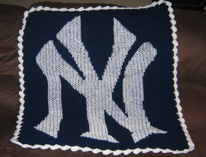 New York Yankees Crochet Pattern New York Yankees
