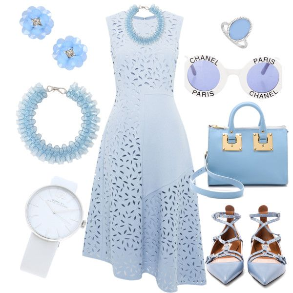 A fashion look from September 2015 featuring Whistles dresses, Valentino flats and Sophie Hulme shoulder bags. Browse and shop related looks.