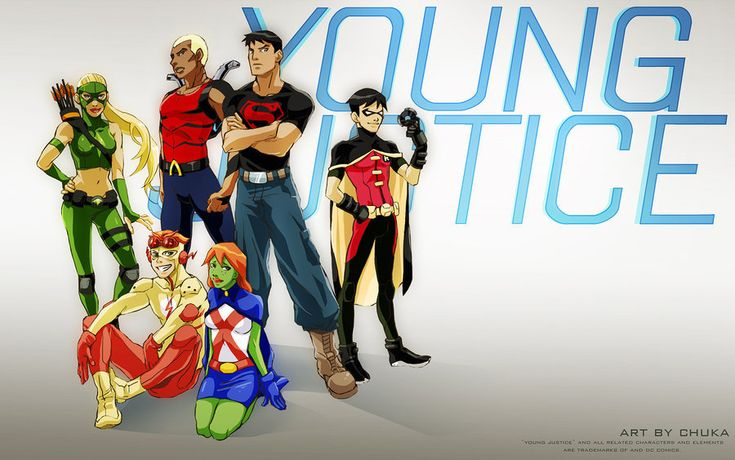 Young Justice!! Best show on Cartoon Network in a long time!