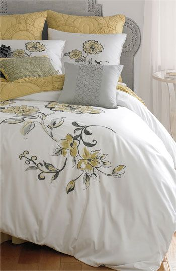 191 best Yellow Gray Bedroom Inspiration images on Pinterest ...