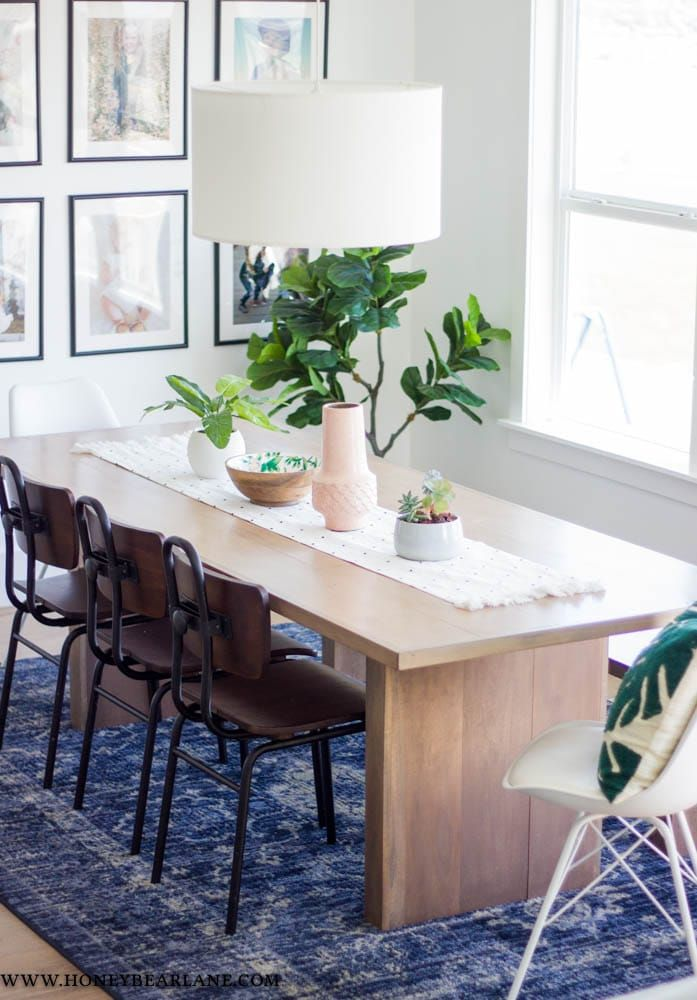 West Elm Inspired Dining Table West Elm Dining Table West Elm Dining Room Dining Room Table Decor
