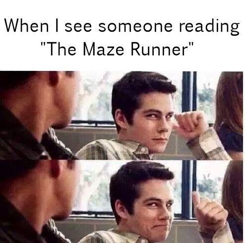 maze runner and cute image @venicedang