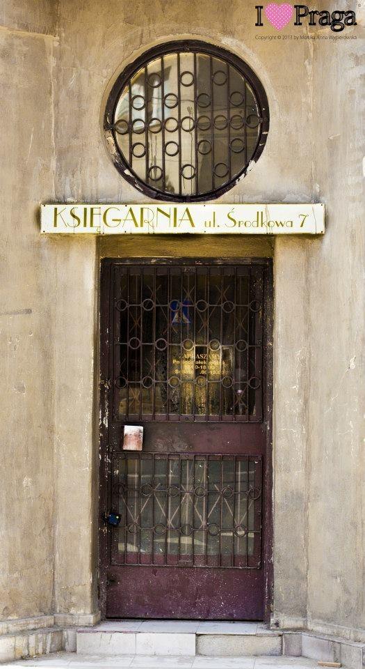 Old Bookstore, Praga District, Warsaw, Poland