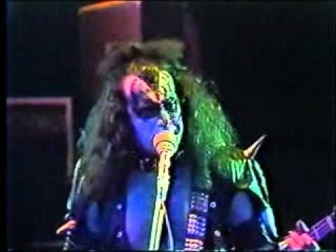 Kiss - Rock N Roll All Nite Live 1975-saw them LIVE at the Springfield Civic Center in MA About 1976 I was on my boyfriends shoulders and Gene Simmons stuck his tongue out (we were just a few feet from the stage) and I thought that was the greatest thing ever! LOL