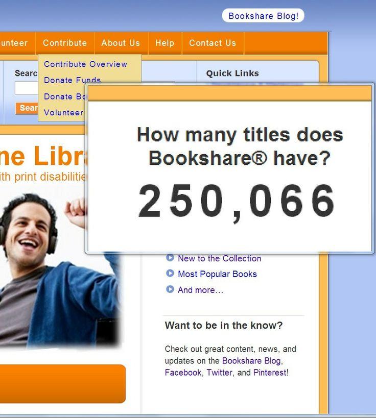 bookshare contains library programs books