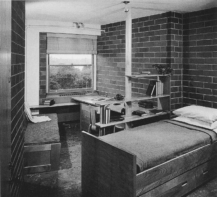 Baker House, Massachusetts Institute of Technology. (Alvar Aalto, 1947—1948.)
