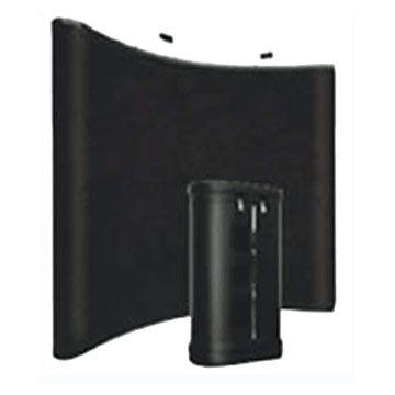 Black Fabric Pop Up Displays: