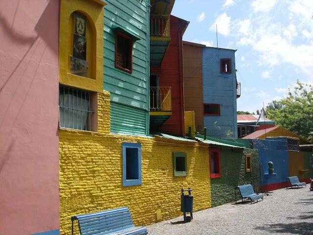 La Boca colorada