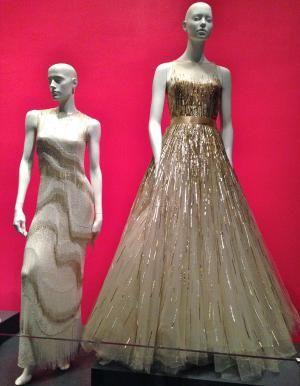 Oscar de la Renta gowns worn by Carrie Underwood and Sarah Jessica Parker - By Jennifer Nicole Sullivan