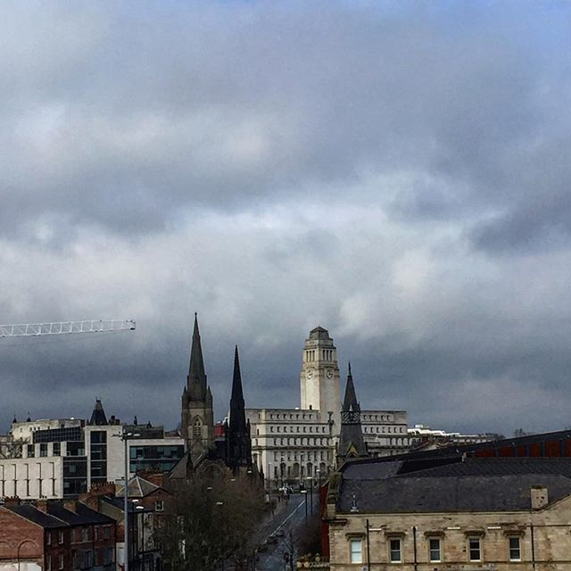 Parkinson Building Leeds #parkinson #leeds #university #tower #portlandstone #uni #yorkshire #sky #clouds #architecture