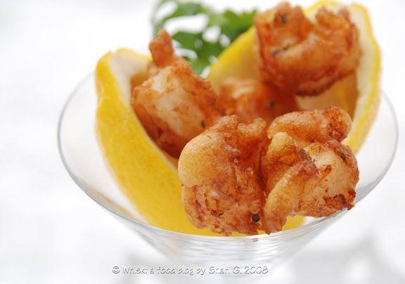 Beignets de Langoustines or Crevettes (Langoustine or Shrimp Fritters)