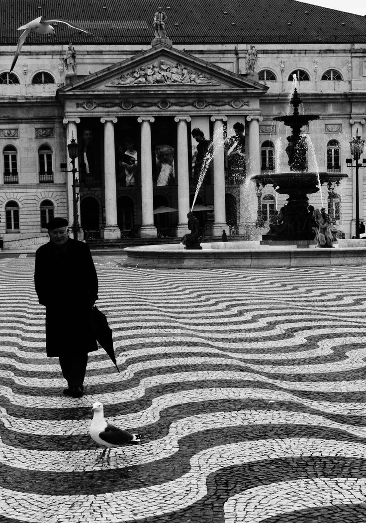 Teatro Nacional D. Maria II é um teatro de Portugal localizado na Praça de D. Pedro IV em Lisboa. O Teatro Nacional abriu as suas portas a 13 de Abril de 1846, durante as comemorações do 27.º aniversário de D. Maria II (1819-1853), passando por isso a exibir o seu nome na designação oficial. Na inauguração, foi apresentado o drama histórico em cinco actos O Magriço e os Doze de Inglaterra, original de Jacinto Aguiar de Loureiro.