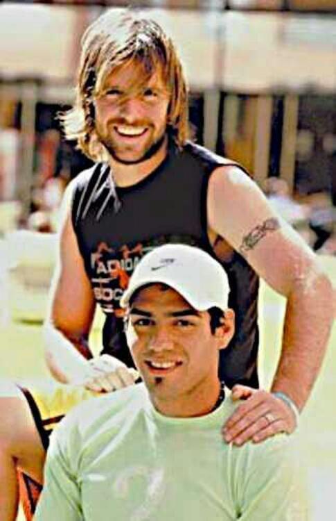 Fernando Cavenaghi y Radamel Falcao. #RiverPlate #Juveniles #Joyas #Goles