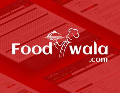 """Check out new work on my @Behance portfolio: """"Foodwala.com"""" http://be.net/gallery/34196359/Foodwalacom"""