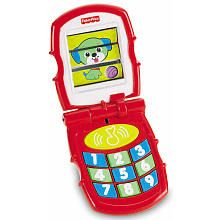 Fisher-Price Brilliant Basics Friendly Flip Interactive Toy Phone