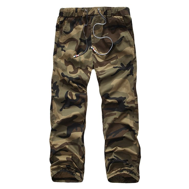New Military Camouflage Pants Men Fashion Elastic Army Pants Men Autumn Jogger Mens Loose Comfortable Cargo Trousers Camo Jogger