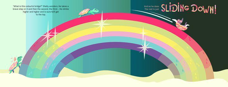 "Pirita Tolvanen ""A Long Way Home: Rainbow Ride"" on Behance"