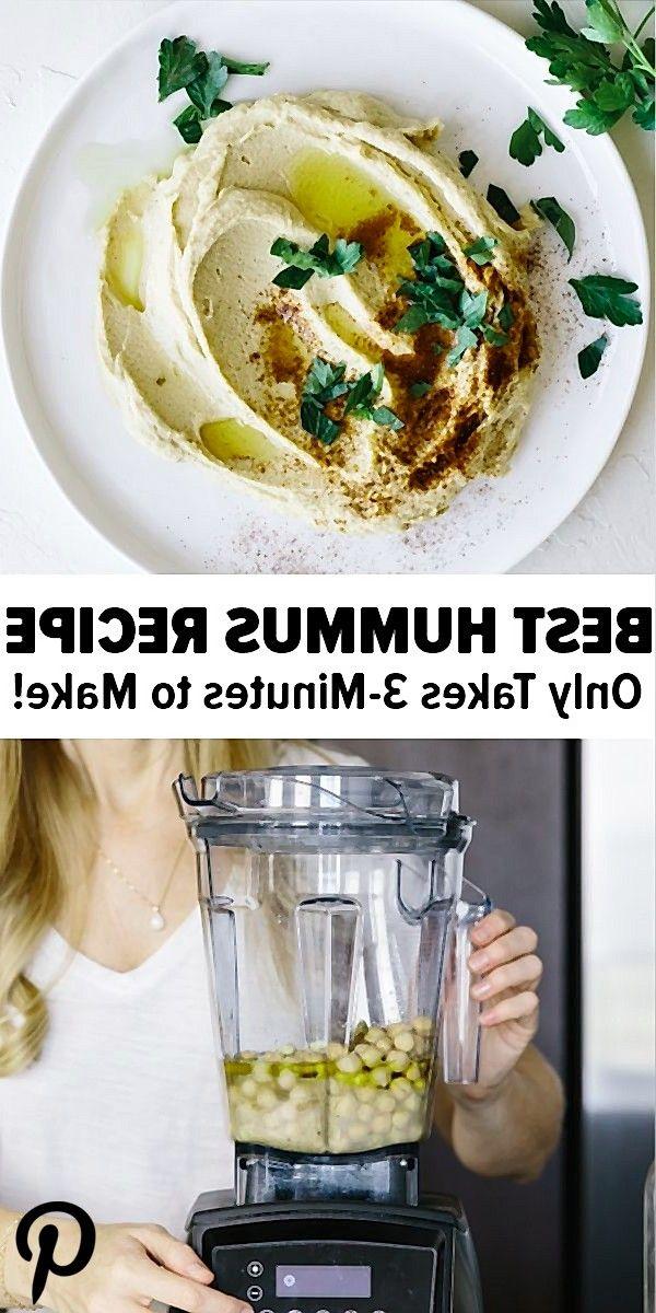 Hummus Hummusrecipe Vitamixrecipes The Best Hummus Recipe In 3 Minutes Rezepte Aioli Rezept Aioli