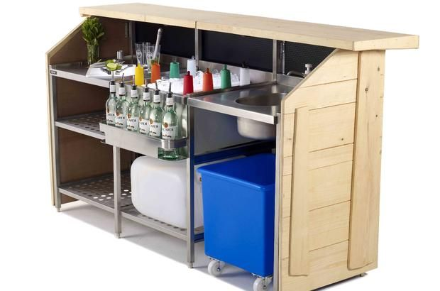 Portabar® - Portable Mobile Bar for Indoor and Outdoor Events