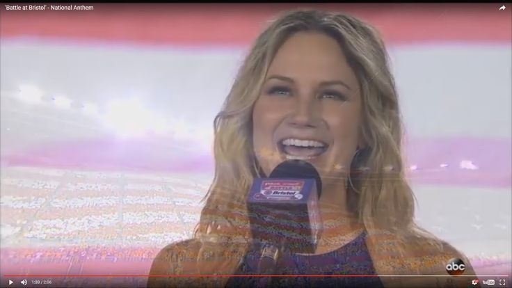 """Photo - Google Photos Jennifer Nettles """"Battle at Bristol"""" The 2016 Pilot Flying J Battle at Bristol was an American college football game played at Bristol Motor Speedway in Bristol, Tennessee on Saturday, September 10, 2016 between the University of Tennessee Volunteers and the Virginia Tech Hokies. Tennessee WON!"""