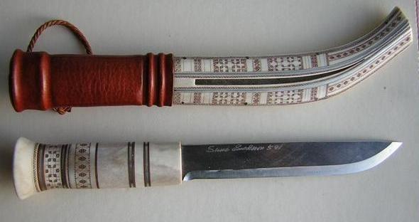 S. Enoksson. Sami knife. Leuku.