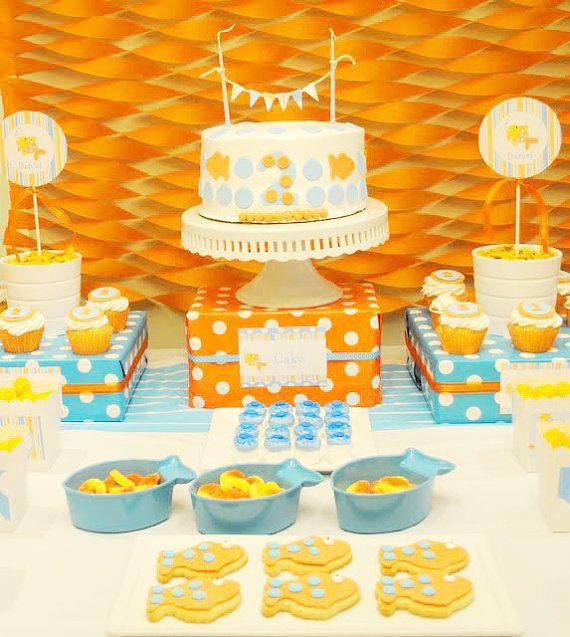 49 best Goldfish Birthday Party Ideas images on Pinterest