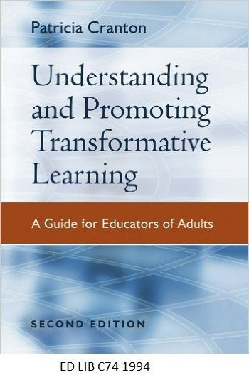 71 best new books images on pinterest new books book cover art understanding and promoting transformative learning a guide for educators fandeluxe Image collections