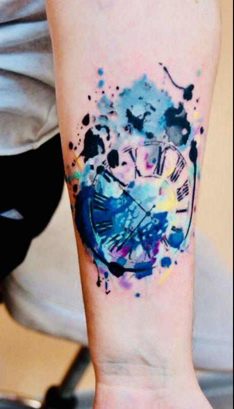 clock tattoo 13