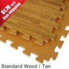 Wood Grain Reversible Foam Floor