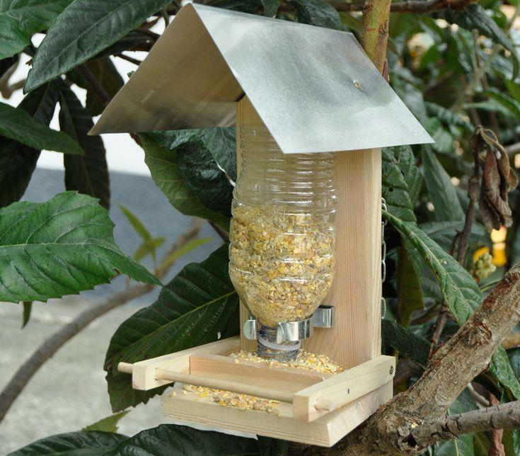 Mangiatoia per uccelli in kit